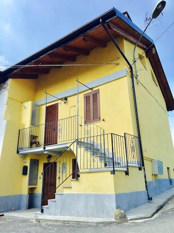 Bilocale in casa rurale - Val Sangone (Giaveno) - Brancard - Natuur/eco-lodge