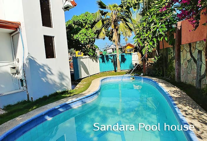 Pool Villa, 4rooms5beds, Center of Mactan, 2helper