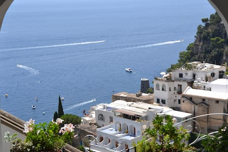 Mare-Positano Center-WiFi & AC free, Patio sea vew
