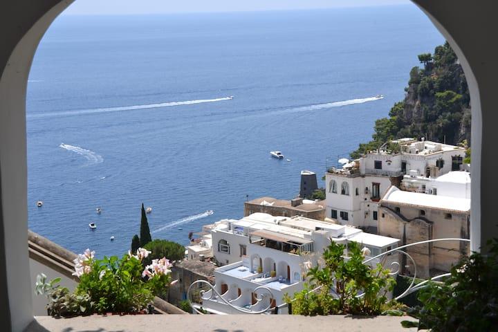 Mare-Positano Center-WiFi & AC free, Patio sea vew