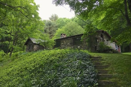 Shady Mountain Getaway w Private Swimming Pond - Austerlitz