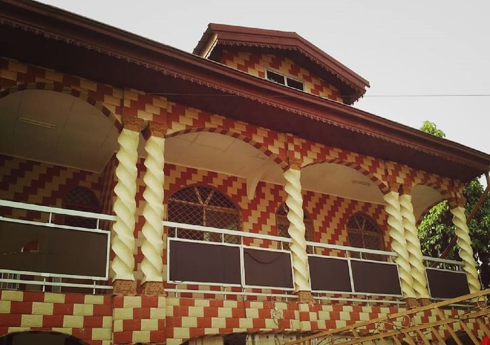 Vue de face coté balcon