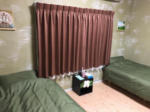 札幌、旭川、千歳の中間、Cozy Penguin Houseの3ベッドルーム!