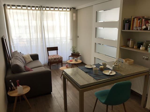 Cozy apartment in Barrio Italia - Ñuñoa - Apartment
