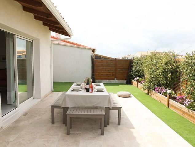 Villa Camargue aux Manades du Soleil.