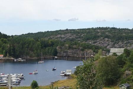 Idyll ved sjøen i Sponvika - Halden - Appartement