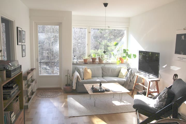 2 bedroom close to nature and metro station - Stockholm - Apartment