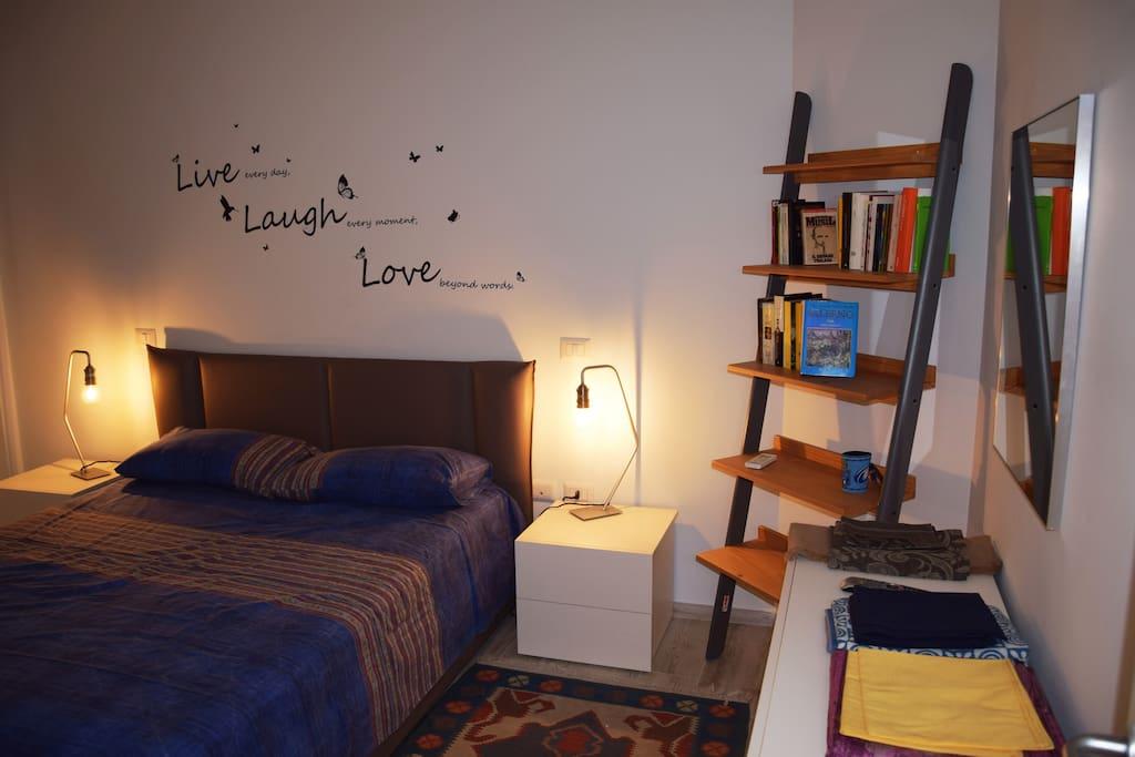 camera da letto riscaldata.