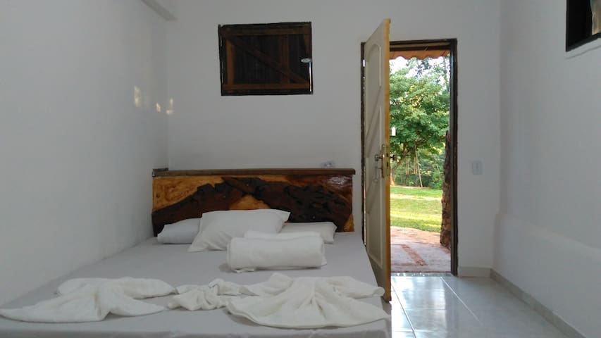 Fazenda Hotel Bem Ecológico - Suíte Porteira