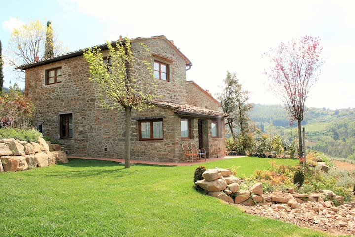 Le Balze di Pile Farmhouse - Greve in Chianti - Greve in Chianti - House