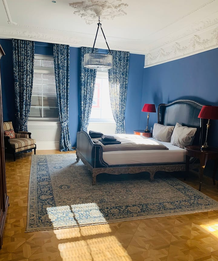 High class blue room in Hanau