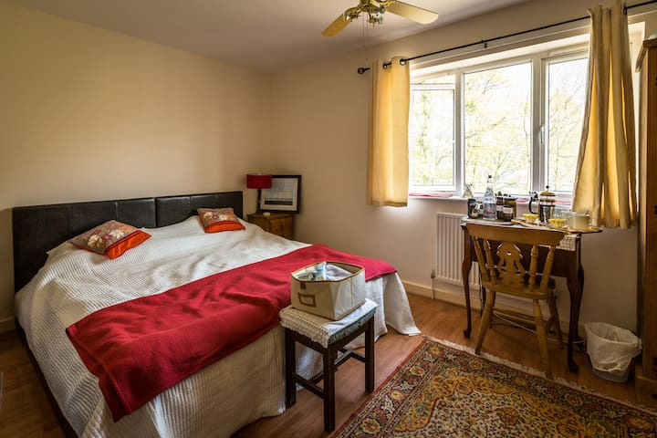 Lovely master bedroom in cosy house near tram stop - Sheffield - Bed & Breakfast