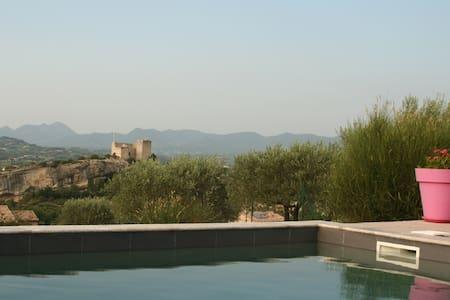 villa provençale avec piscine - Vaison-la-Romaine