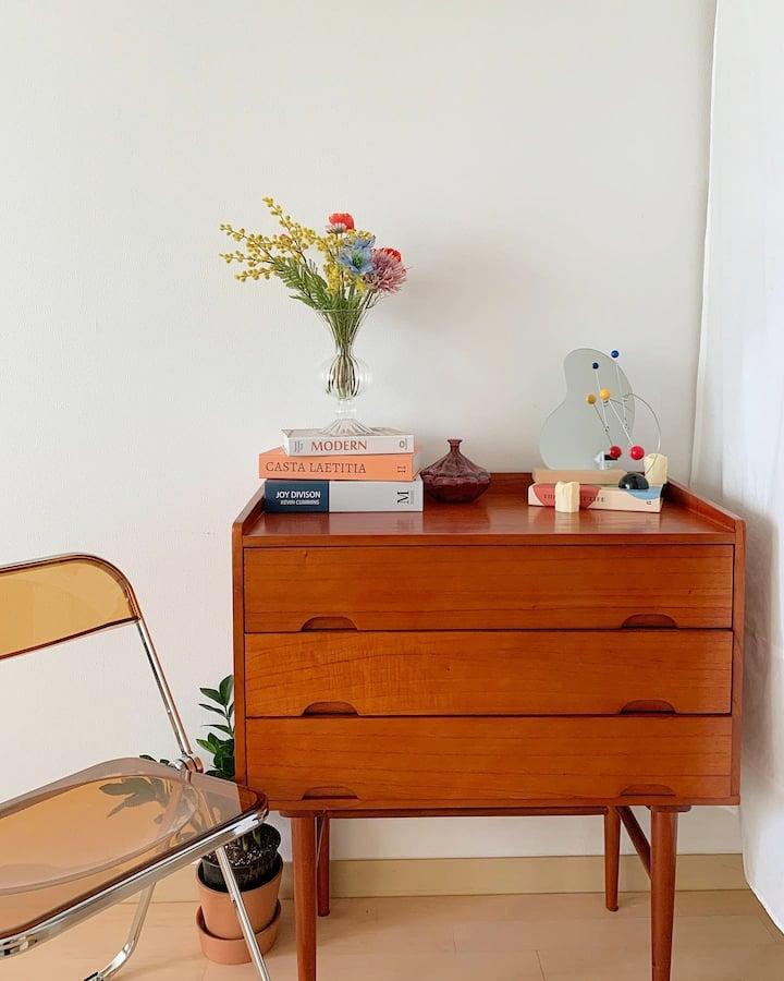 스튜디오 아파트먼트 '오래'.Studio'Ore' 유니크감성/전포카페거리/집콕데이트/홈카페