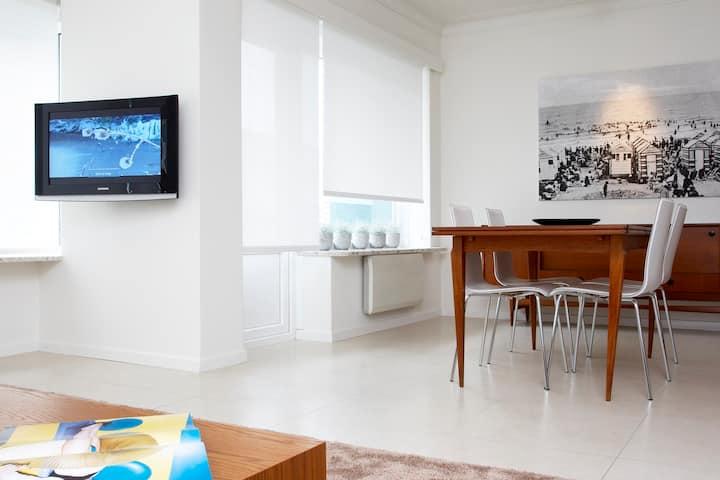 Knokke Appartement avec garage(à 50 m de la digue)