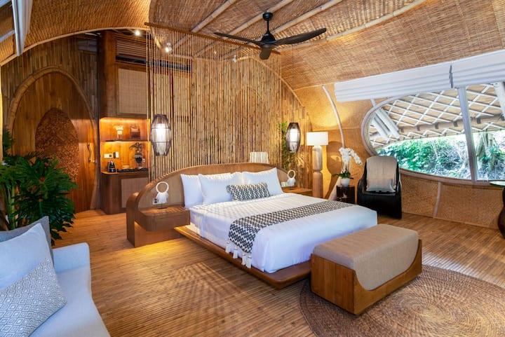 Ulaman Eco Retreat - Cocoon Upper Deluxe - Resorts for Rent in Kediri,  Bali, Indonesia