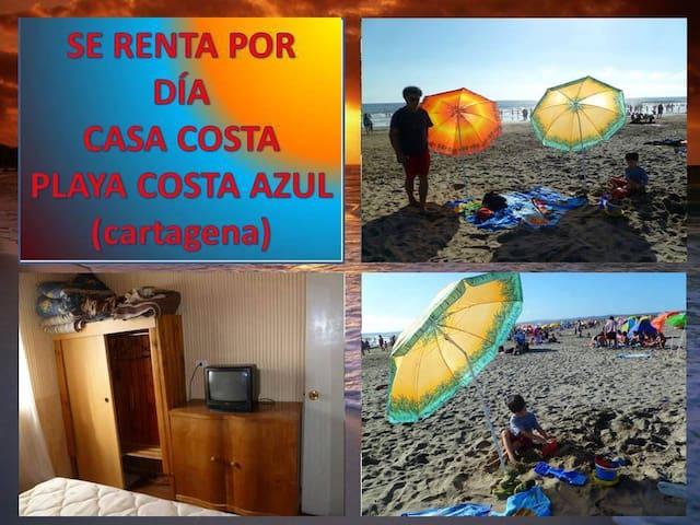 Casa playa costa azul-cartagena-san antonio - Cartagena - Hus