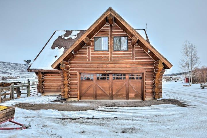 Coalville Home w/Mountain View & 40 Acres of Land!