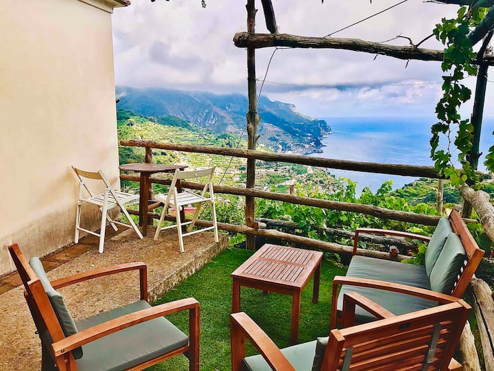 ☆Rustic Retreat☆Family/Couple on Amalfi Coast☆