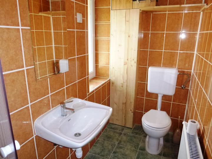 Hostel bed+shared bath in Keszthely at Balaton