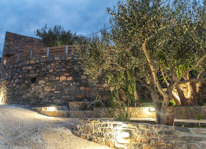 Villa Panagia/ Extraordinary vieuws - Epano Elounda - Casa