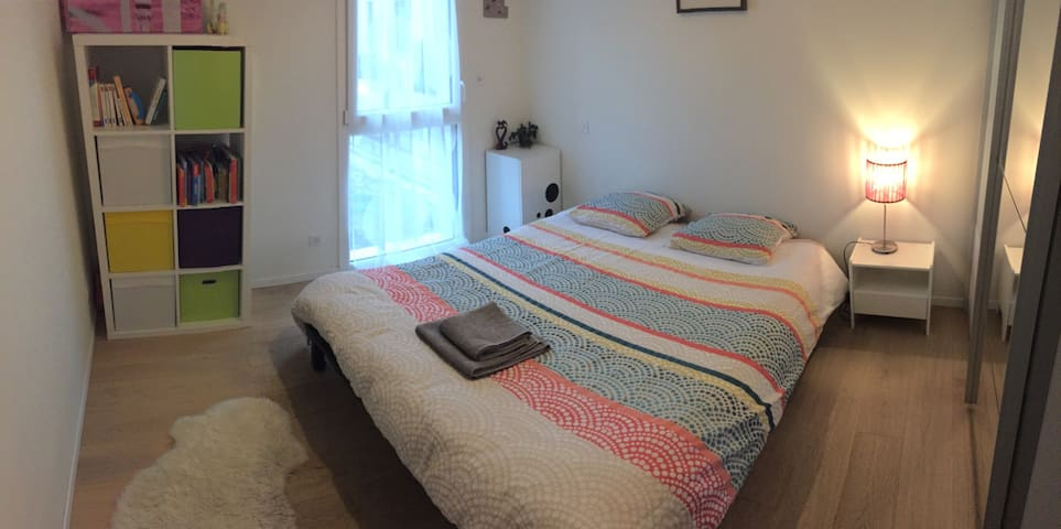 Chambre confortable aux portes de Strasbourg - Plobsheim