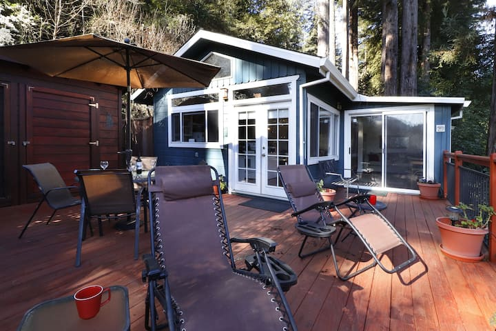 MALLARD: Fireplace | Large Deck+No End River View