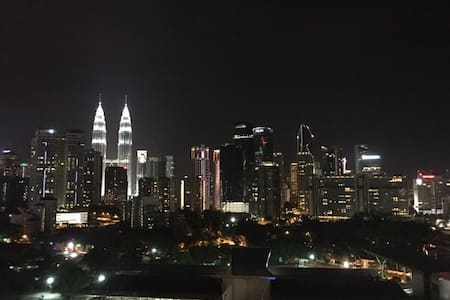 City centre Klcc view - Lakás