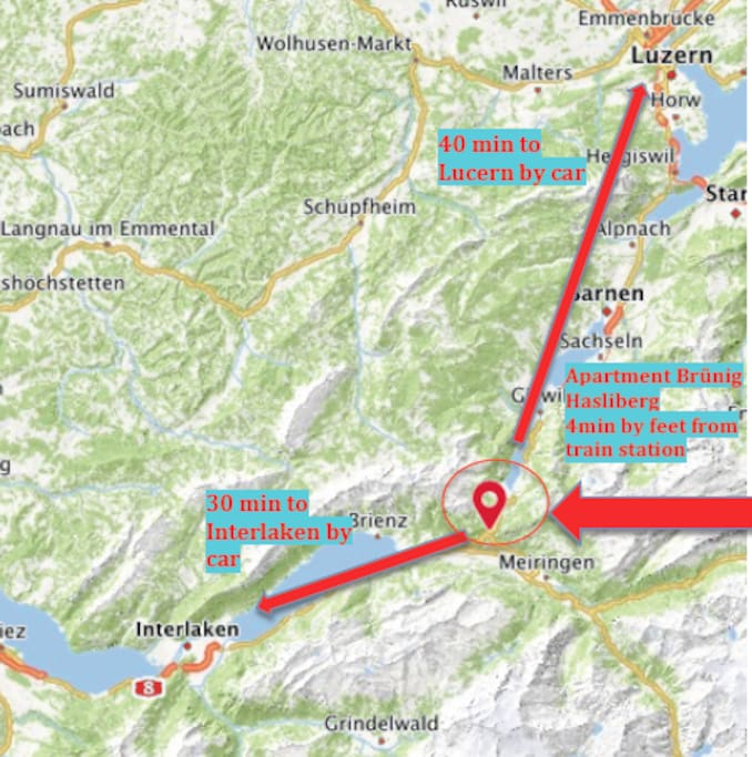Need a travelbase to explore the middle of Switzerland?