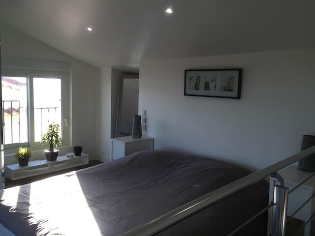 Apt 50m2, à 15min de Cannes, 4 pers - La Roquette-sur-Siagne - Apartemen