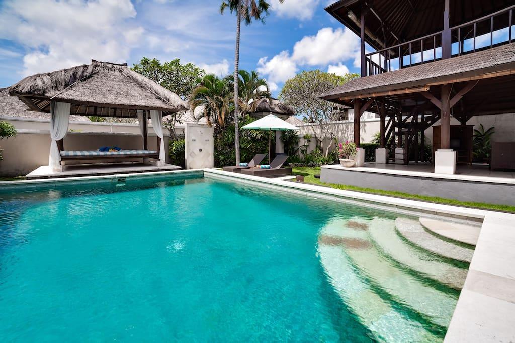 Big swimming pool