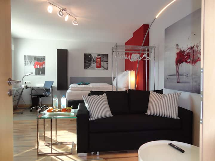 Nice 40 qm apartment near Frankfurt