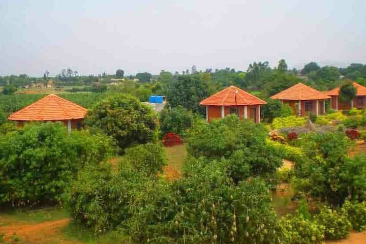 Getaway from Bangalore city into a rural setting