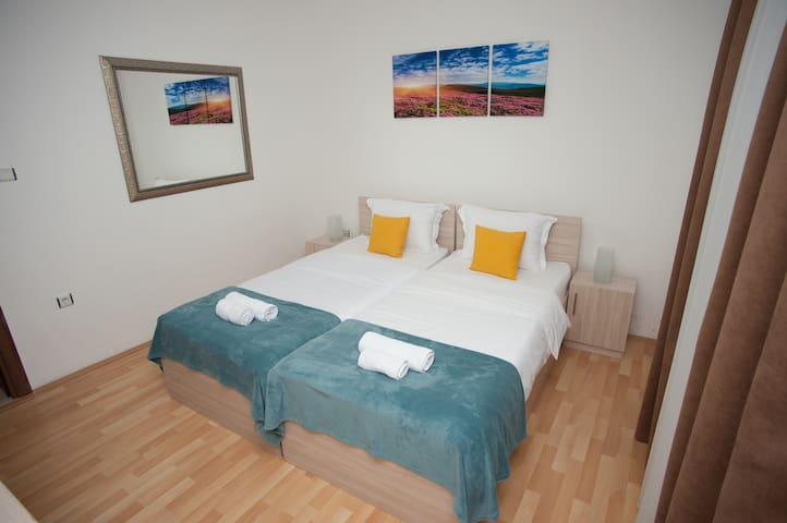 Vila Vanila Double room with 2 twin beds