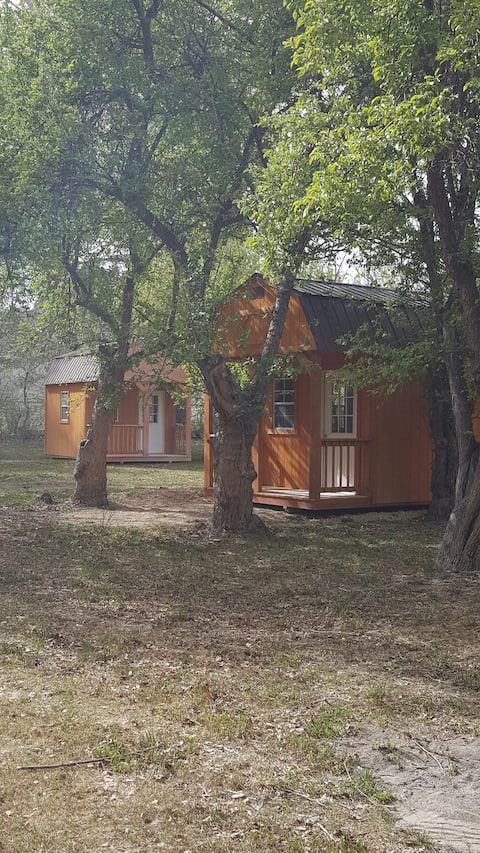 "Bates Family Ranch rustic cabins ""Rattle Snake Den"