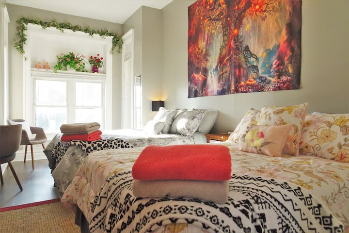 4C1b Luxury Double Full Beds in Chicago