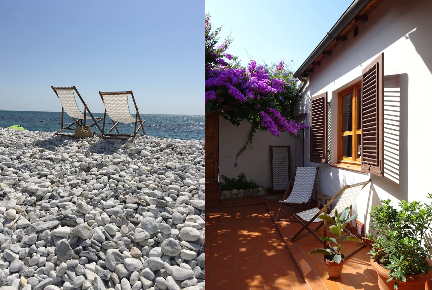 Nice house just 150 meters from the beach.