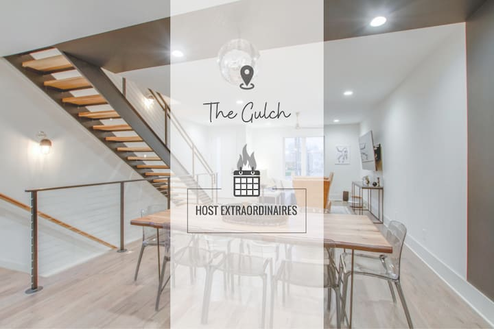 VIBE ✳ GIANT GORGEOUS TOWNHOME ✳ TOP FLOOR BALCONY