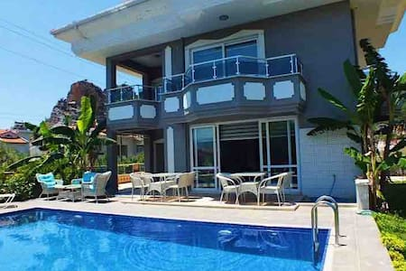 Luxury Villa with Spa & Pool in Marmaris, Turkey