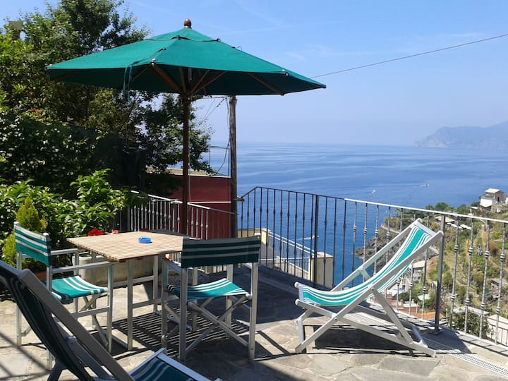 ARIA DI MARE: unforgettable view from the terrace!