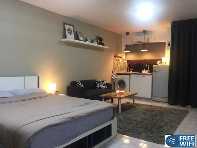 ★Cozy and comfortable studio apartment Latphrao71★