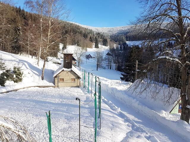 Horská chata Krosnov - Pětilůžkový pokoj
