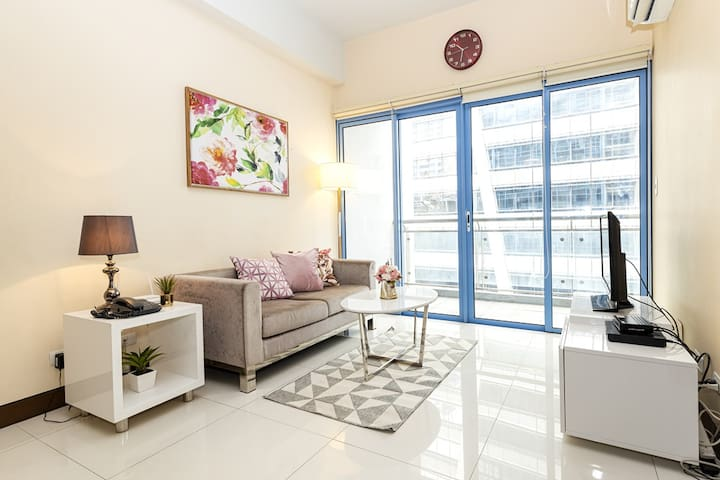 Cozy&Well-Appointed 1Bedroom in Makati CBD (M8)