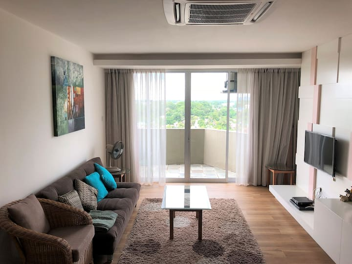 RIVERBANK SUITE APARTMENT IN CENTER OF KUCHING