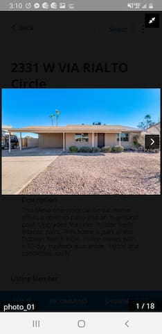 Serene living in Mesa, only 6 mi to airport