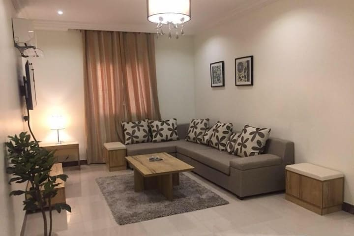 Large luxurious apartment