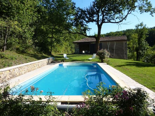 Maison 6 places 3 km de cordes - Saint-Marcel-Campes - Huis