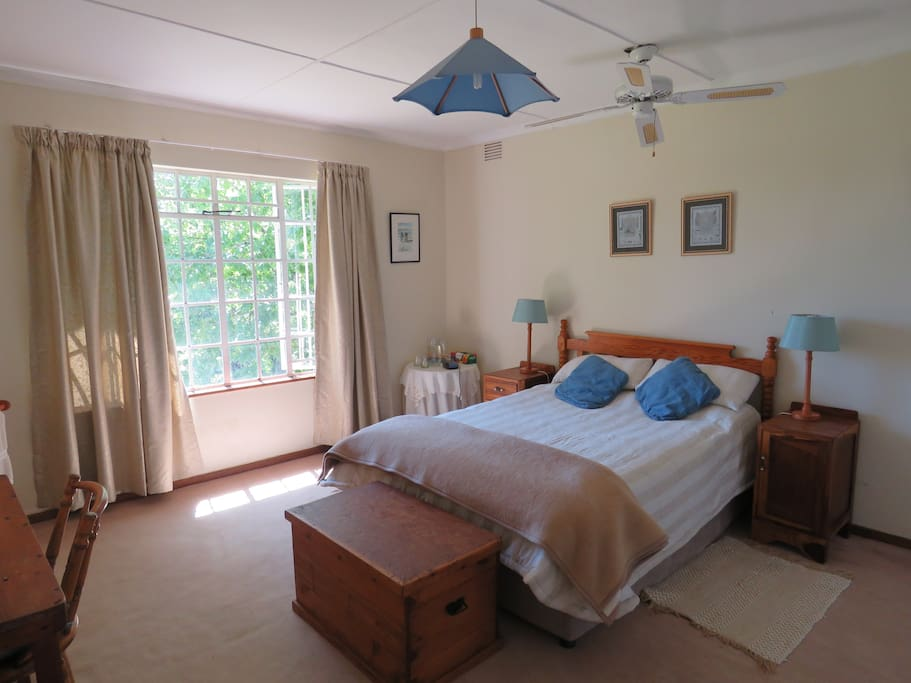 Main bedroom with a lovely view