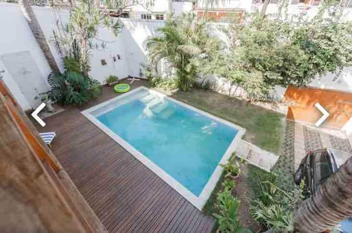 Vai amar! Casa em São Conrado, piscina e praia!