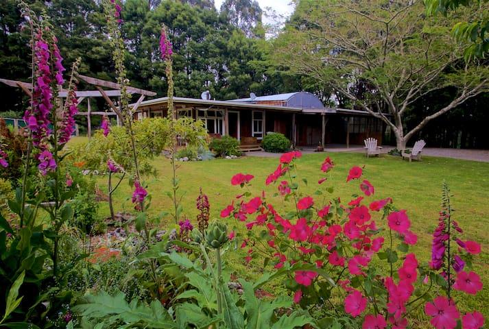 Manganui River Lodge - Raetihi - Huis